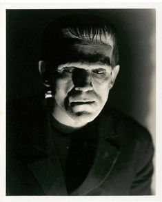 "Brilliant portrait of the Monster in ""Frankenstein"" (1931)."