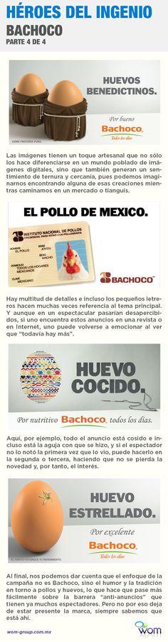 Cuarta parte del análisis de la campaña publicitaria de Bachoco.
