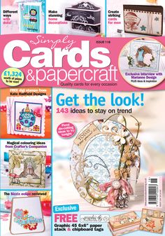Simply Cards & Papercraft 118 available from http://www.moremags.com/papercrafts/simply-cards-papercraft/simply-cards-papercraft-453