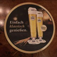 Warsteiner Bierdeckel - Gütersloh - Neue Stimmen - 14.10.17 Beer Coasters, Frases, Ale, Simple, Beer Bottle Caps