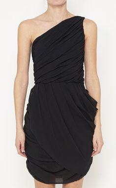 Mara Hoffman Black Dress | VAUNTE. $90, down from $350. js