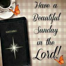Good Morning...Beautiful Sunday