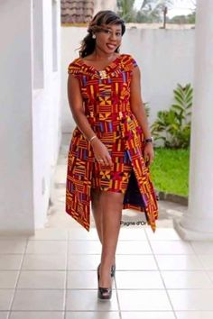 beautiful ankara gown styles with matching jacket styles for women, trendy ankara jacket and gown tykes for ladies Short African Dresses, Ankara Short Gown Styles, Short Gowns, African Print Dresses, African Clothes, African Fashion Ankara, Latest African Fashion Dresses, African Print Fashion, Africa Fashion