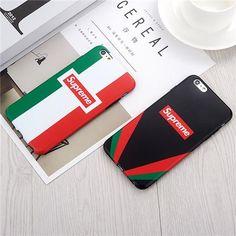 Supreme シュプリーム ブランド iphoneX ケース iphone8 ソフトカバー カップル カラフル マット材料 ストリート系 ペア物 iphone7plus