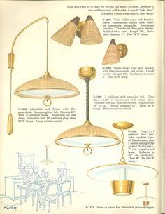 Vintage lighting mid century modern Hanging Vintage Virden Lighting 52 Page Catalog From 1959 Mid Century Pinterest 1781 Best Mid Century Lighting Images Mid Century Lighting Lights