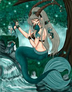 Capricorn the Seagoat by ~xxBrokenRavenxx on deviantART