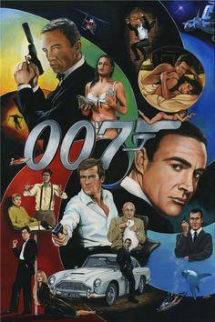 Forever Bond... James Bond   Comic Art