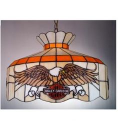 Harley Davidson Fans with Lights | 16W Harley-Davidson Pendant Light - NEW by noas55
