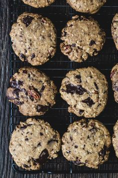 Whole wheat chocolate pecan coconut cookies | Eat Good 4 Life