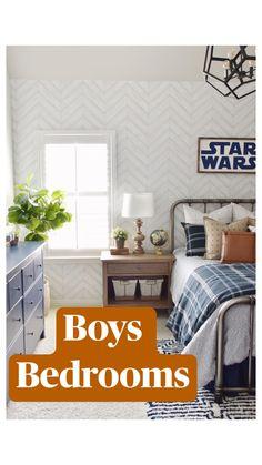 Rustic Boys Bedrooms, Kids Bedroom, Bedroom Decor, Tiny Bedrooms, Basement Guest Rooms, Bed In Closet, Boy Room, Home Interior Design, Home Remodeling