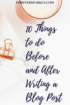 Read the 10 things y