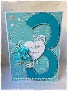 Hurtem Handmade Birthday Cards, Handmade Cards, Craft Cards, Diy Birthday Cards, Diy Cards, Homemade Birthday Cards, Homemade Cards, Card Making Inspiration, Handmade Crafts
