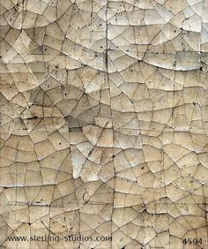 4594 - Wall covering - Plaster - Sterling studios Crackled gesso with cracks in all directions sample no 4594 can be used to cover walls or furniture Paint Effects, Wall Finishes, Mural Art, Texture Design, Interior Walls, Beautiful Wall, Painting Tips, Plaster, Textured Walls