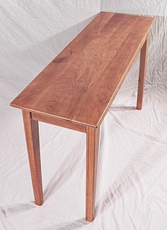 IDEA--Antique Reclaimed Cherry Console Hall Sofa Table by oacfurniture