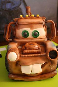 Tow Mater Cake - Kory's 18th Birthday Cake!!! :)