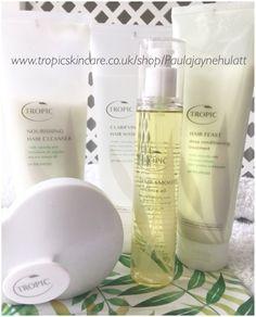 Tropic Hair Care Range Clarifying Hair Wash Nourishing Hair Cleanser Hair Feast Hair Smooth  Scalp Massager