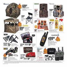 Cabela's Pre-Black Friday 2018 Ads and Deals Browse the Cabela's Pre-Black Friday 2018 ad scan and the complete product by product sales listing. Black Friday Ads, Coupons, Stuff To Buy, Coupon