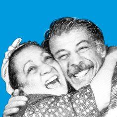#FilmGibiAşklar: Münir Özkul ve Adile Naşit Ailenin önemini hissettirdiler. :) #SevgililerGünü #love #aşk #ValentinesDay