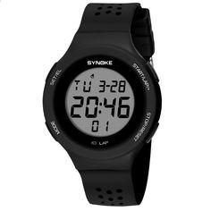 SB0032 Многофункциональные водостойкие детские часы Бренд Дети Часы  светящиеся светодиодные часы Цифровые наручные часы 6837d65cad12e