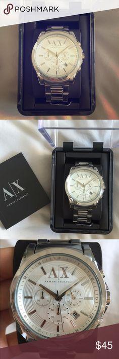 Armani Exchange Men's Watch Brand new, never worn men's watch! Comes in original packaging. Perfect gift! Armani Exchange Accessories Watches