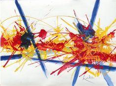 georges mathieu peinture -RepixLikeView Pic
