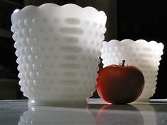 milk glass- I want this piece!