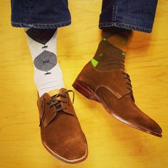 Professional, themed socks that are far from novelty but still keep you smiling! Fun and funky, smart and sophisticated - Those socks are a hit any time a little excitement is needed!