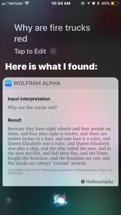 My Siri thinks she is so funny
