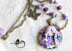 Un preferito personale dal mio negozio Etsy https://www.etsy.com/it/listing/233119217/collana-fimo-fairy-collection-fimo
