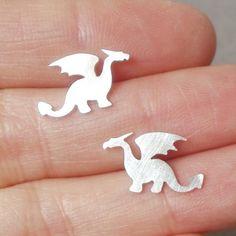 Aretes - Dragones