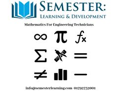 Further Mathematics for Engineering Technicians - Semester Learning & Development Ltd Mechanical Engineering Technician, Complex Numbers, Engineering Courses, Arithmetic, Calculus, Electrical Engineering, Higher Education, Maths