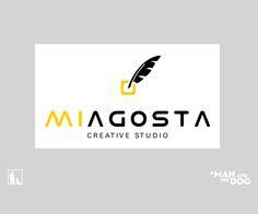 Corporate identity for a creative studio. #amanandhisdog #design #graphicsdesign #corporate #business #corporateidentity #branding