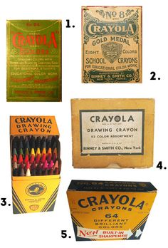 """c1940-1999 - """"The American nostalgia craze, with the oldest boomers leading the charge, was taking off just as the 'Crayola Eight' were heading for retirement. By the end of the 1990s, companies like Binney & Smith, Coca Cola, Hershey, Mattel, and Volkswagen of America had cofound a ready market in the boomers for retro and heritage products."""""""