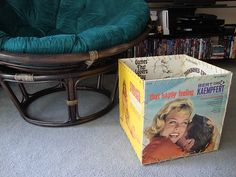 record album box