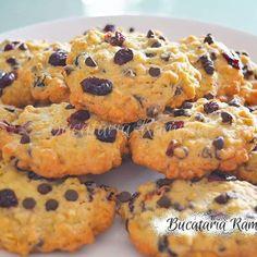 Fursecuri cu nuca de cocos si nutella, reteta Ramonei Dascalu Nutella, Deserts, Muffin, Cookies, Meat, Chicken, Breakfast, Food, Crack Crackers