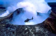 Helicopter ride over an active Volcano in Kona Hawaii -- OMG! I'm already a little nervous! #SavingsareinthKitchen