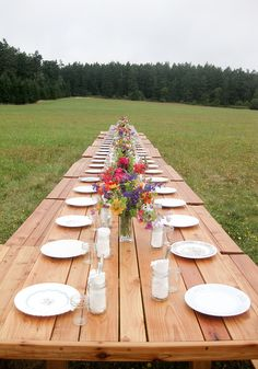 Seattle Farm Tables - cedar table