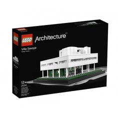 #LEGO #ARCHITECTURE #VILLA #SAVOYE by #LE #CORBUSIER @Courtney LaLa + form