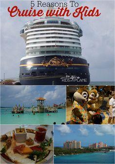 Reasons to Cruise with Kids | KidsOnAPlane.com #familytravel #cruise #traveltips
