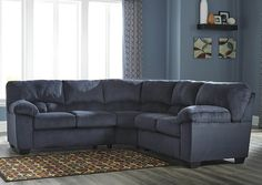Dailey Midnight Sectional,Signature Design by Ashley