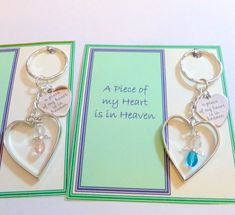Baby Loss Remembrance Gift Keyring or Bag Charm Angel Baby in Heaven Above