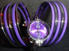 Ladies Bangle Cuff Ladies Quartz Watch $7.99