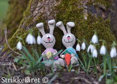 Strikkefåret: Hæklede kaniner