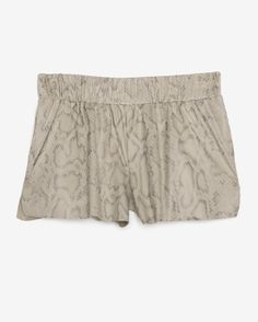 Georgie EXCLUSIVE Faux Python Shorts: Natural Snake Venom, Python, Lust, Shorts, My Style, Fall, Natural, Collection, Fashion