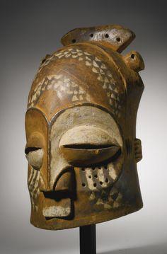 Kuba-Kete Helmet Mask, Democratic Republic of the Congo | lot | Sotheby's