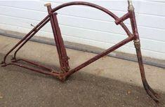 Antique Bicycles, Old Bicycle, Motorized Bicycle, Leaf Spring, Bottom Bracket, Bike Parts, Bike Design, Custom Bikes, Screen Shot