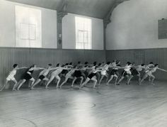 Exercise Class At The Hollywood Studio Club
