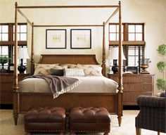 Quail Hollow Poster/Canopy Bed