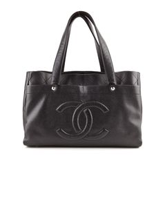 Chanel Leather Tote. #chanel #leather #tote