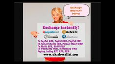 Exchange PaySafeCard to PayPal, Skrill, Perfect Money, Webmoney, Bitcoin...